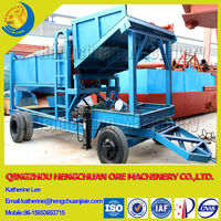 Hengchuan Alluvial Gold Trommel Screen Machine for Gold Separating