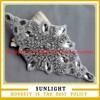 Guangzhou factory wholesale diamond rhinestone wedding decoration appliques