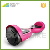 pink 250w 36v electric two wheel balance scooter for girls