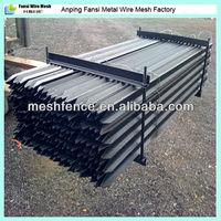 Black 165cm AU standard Y type fence post