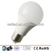 10W 850Lm SMD 3020 Aluminum with PC cover High quality LED Bulb A60