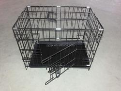 Metal Folding Galvanised Dog Crate