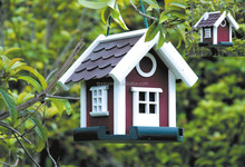 decorated Hot Sale Wooden bird house