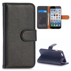 Litchi Texture Flip Magnetic Stand Leather Phone Case for iPhone 6 Case