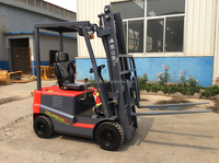 1500kg small heavy duty electric forklift material handing equipment
