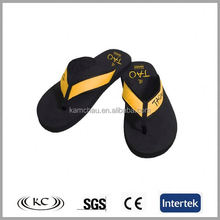 popular europe sale online die-cut plain flip flop men 2012