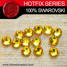 Wholesale Swarovski Elements Light Topaz (226) 6ss Crystal Iron On Hot Fix Rhinestone