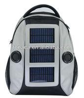 Solar Backpack, Solar Travel Bag with Speaker