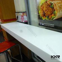 Piedra Artificial largo y estrecho mesa de comedor / piedra mesa de comedor
