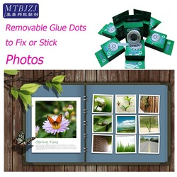 Excellent Removable Glue Dots for Hanging and Securing Photos