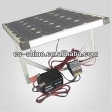 150watt Flat Solar Charger kits with PWM/Waterprooft/MPPT controller