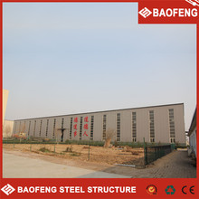 light steel mobile prefab warehouse spain