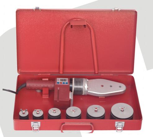 Hl40-sd en plastique pvc machine de soudage de tuyaux 20 - 63 mm avec CE