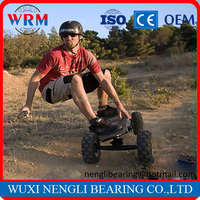 No Foldable and Offroad Electric Skateboard 4 Wheels Skateboard Speed 32 km/h