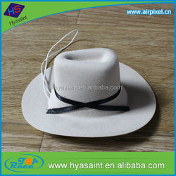 Wholesale new age products paper cowboy hat car air freshener