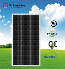 Moderate cost 250w best price per watt solar panels
