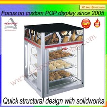 Beautiful Acrylic Cake Display Stand For Bakery Store