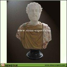 Newstar sculpté à la main marbre buste