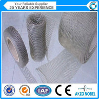 SS316,321,304 liquid gas filter knitted wire mesh