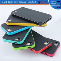 High Quality TPU+PC Protective Back Case Cover For iPhone 5C, Mobile Phone Case For IPhone 5C