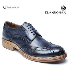 Brogue style latest men shoes pictures in china