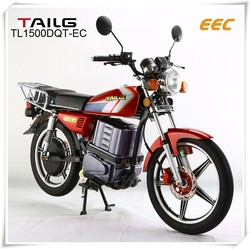 electric motorbike with eec tailg electric moped with steel electric bike for sales TL1500DQ-EC