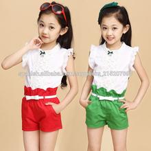 2014 pavo Loveslf Nuevo estilo de los niños al por mayor de la ropa / ropa de los niños traje fabricante / Fashion Simple