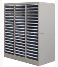 cheap price index card file cabinet with plastic drawers