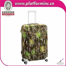 Hecho a mano de moda barata a prueba de polvo de viaje maleta cubierta