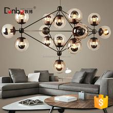 Sputnik Industrial Edison Bulbs Pendant Lamp lighting modern modo glass ball chandelier for high ceilings jason miller modo