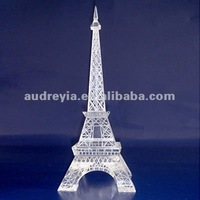Crystal Eiffel Tower model