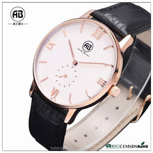 Sapphire crystal water resistant quartz 3 bar your logo custom wrist watches for men