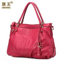 Free shipping Branded shoulder bag 100% genuine leather hobo bags with shoulder strap crossbody bag