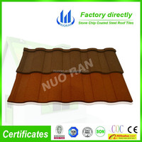 1340*420 mm stone coated metal roofing tiles