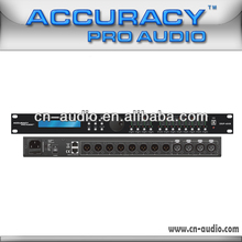 Accuracy pro audio 4 in 8 out DSP Audio Processor Wholesale from China DSP-4X8