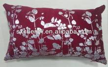 2014 New fashion square cushion with foil print