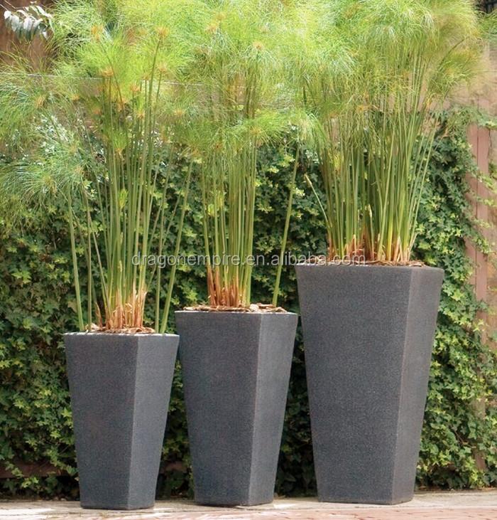 Grande place grand jardin d coratif ext rieur et int rieur - Pot decoratif exterieur ...