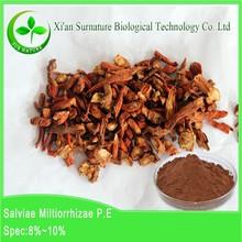 supply 100% pure organic Dan shen root powder