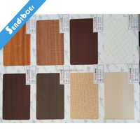 4x8ft 8mm interior product office furniture board chip wood