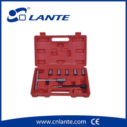 Auto repair Equipment 7pcs diesel injector seat cutter set