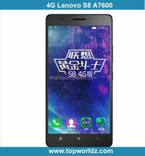 "2015 New 5.5"" Lenovo S8 A7600 MTK6752M Octa Core 2GB+8GB Android 5.0 Dual SIM IPS 1280*720 13.0MP Camera 4G FDD LTE Mobile Phone"