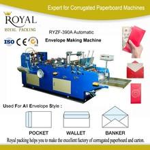 huge discount full automatic envelope sealing machine price, card cover envelope making machine