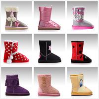 kids faux fur snow boots cheap warm high quality 2015