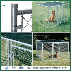 hot sale outdoor chain link wire mesh dog kennel cage