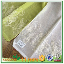 factory hot sales european new design ready made sheer jacquard window curtains for living room