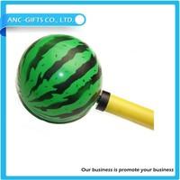 wholesale custom inflatable logo printed beach ball sitting