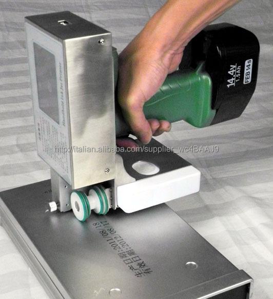 Stampante codice batch di palmare multifunzione a getto d'inchiostro, stampante a getto d'inchiostro hitachi
