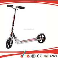 Hottest!! Extremely Aluminum BIG 200MM Wheels Adult Kick Ski Scooter