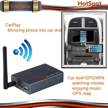 Car wireless mirror link mirabox support IOS and android for 2014 skoda octavia wifi mirror link