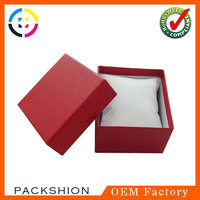 Pillow inside paper gift wrap box for watch from Alibaba supplier